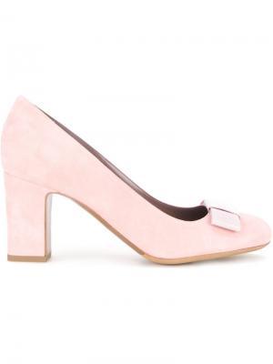 Туфли Flora Tabitha Simmons. Цвет: розовый и фиолетовый