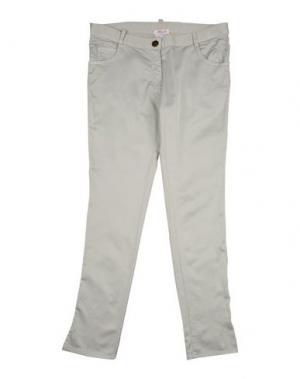 Повседневные брюки AMELIA. Цвет: светло-серый