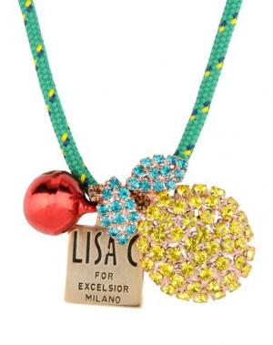 Ожерелье LISA C BIJOUX. Цвет: зеленый