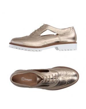 Обувь на шнурках BAGATT. Цвет: платиновый