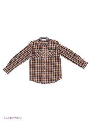 Рубашка Ben Sherman. Цвет: коричневый