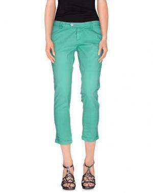 Джинсовые брюки JCOLOR. Цвет: зеленый