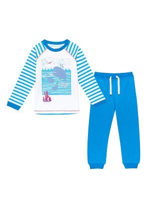 Пижама NinoMio. Цвет: голубой