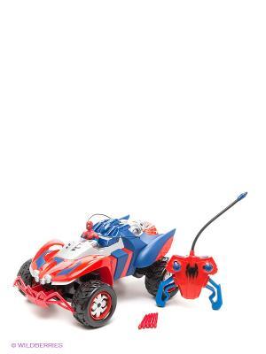 Радиоуправляемая машинка Человек-паук Majorette. Цвет: синий, красный