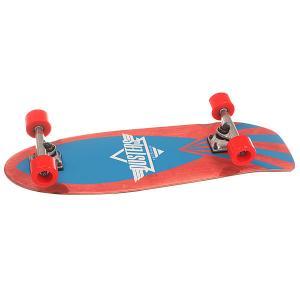 Скейт мини круизер  Cazh Cruiser Kryptonics Red 8.75 x 28.5 (72.4 см) Dusters. Цвет: красный,синий