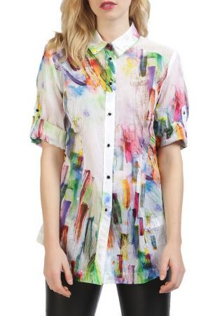 Блуза Apanage. Цвет: белый