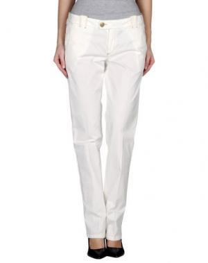 Повседневные брюки MASTAI FERRETTI. Цвет: белый