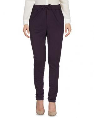 Повседневные брюки EMPATHIE. Цвет: баклажанный