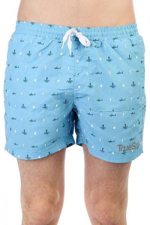Шорты пляжные  Underwater Shorts Blue TrueSpin. Цвет: голубой