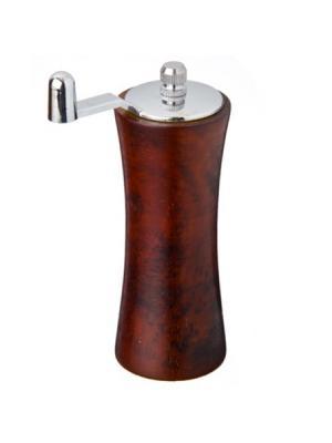 Мельница для специй, дерево+пластик, 13,5см, коричневая, SM045BROWN Vetta. Цвет: коричневый