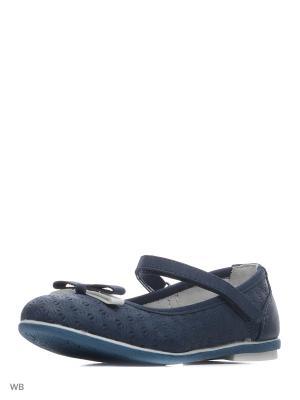 Туфли Болеро. Цвет: синий