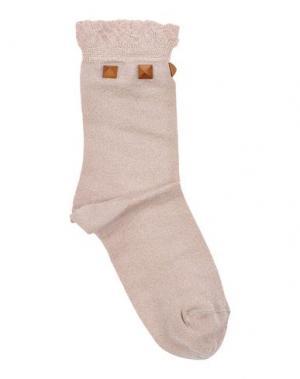 Короткие носки PIERRE MANTOUX. Цвет: голубиный серый