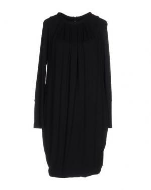 Короткое платье GIO' GUERRERI. Цвет: темно-синий