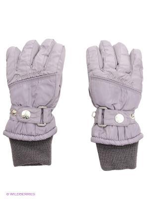 Перчатки Devance. Цвет: серый