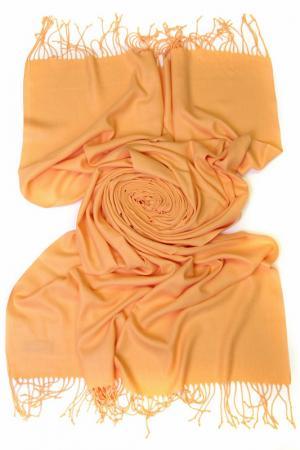 Палантин Frantelli. Цвет: светлый оранжевый