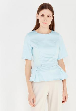 Блуза MilkyMama. Цвет: голубой