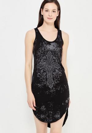 Платье Affliction. Цвет: черный