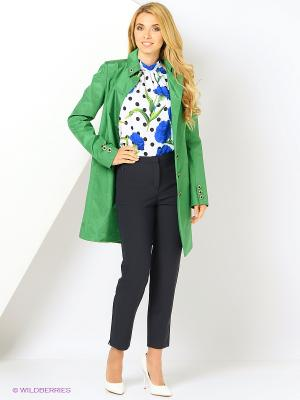 Плащ Liara-Moda. Цвет: зеленый