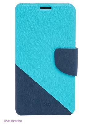 Чехол для Samsung S5 WB. Цвет: голубой, синий