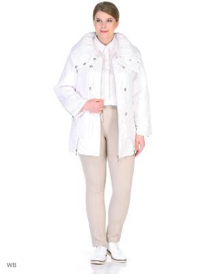 Куртка VIKO. Цвет: белый