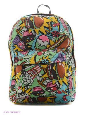 Рюкзак Pop Art Kawaii Factory. Цвет: голубой, желтый, фиолетовый