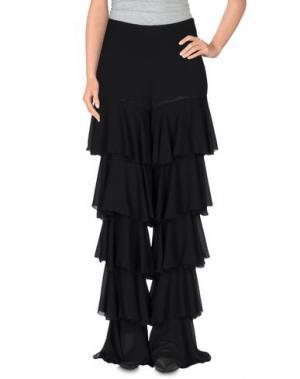 Повседневные брюки ANGELA MELE MILANO. Цвет: черный