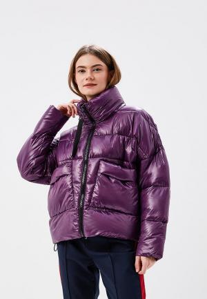 Куртка утепленная Befree. Цвет: фиолетовый