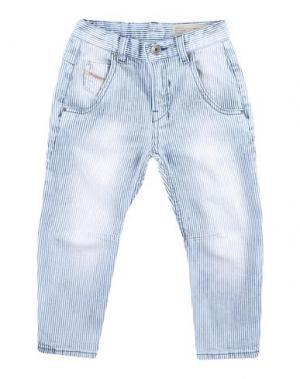 Джинсовые брюки DIESEL. Цвет: слоновая кость