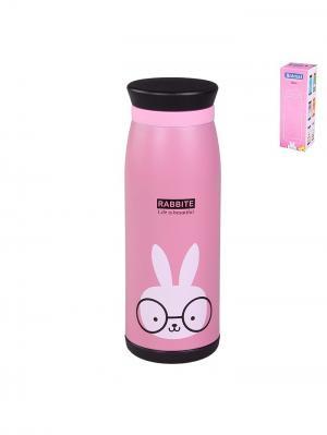 Термос 500 мл.(кролик) PATRICIA. Цвет: розовый, белый, черный