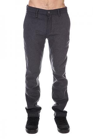 Штаны прямые  Vector Chino Pant Ash Altamont. Цвет: серый