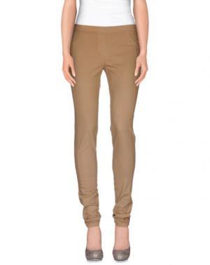 Повседневные брюки GUARDAROBA by ANIYE. Цвет: песочный