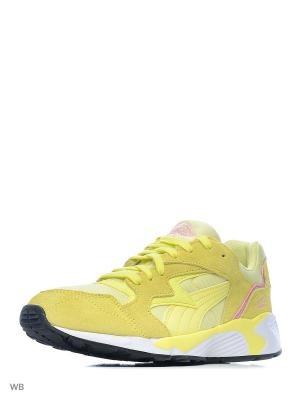 Кроссовки Prevail Puma. Цвет: желтый