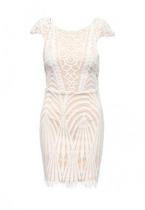 Платье Stella Morgan. Цвет: бежевый