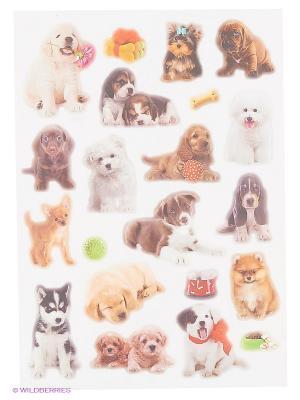 Любимые щенки DECORETTO. Цвет: серый, коричневый, бежевый, белый