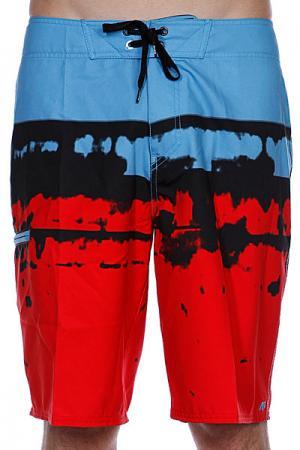 Пляжные мужские шорты  Dorado Brdshort Red Analog. Цвет: красный,голубой