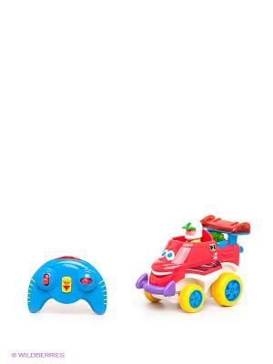 Развивающая игрушка Забавный автомобильчик Kiddieland. Цвет: синий, красный, желтый