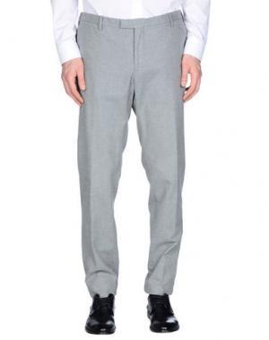 Повседневные брюки GERMANO. Цвет: серый