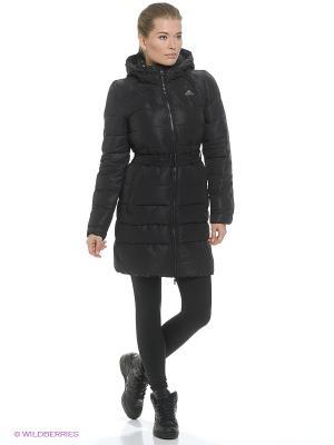 Пальто TIMELESS D COAT Adidas. Цвет: черный
