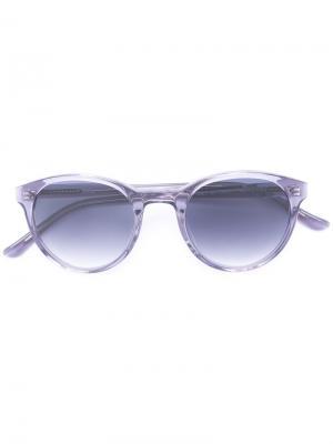 Солнцезащитные очки Bubs YMC. Цвет: серый