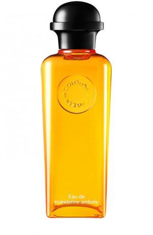 Одеколон Eau de mandarine ambrée Hermès. Цвет: бесцветный