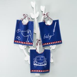 Нагрудники детские  bébé collection (комплект из 3 штук) Smart La Redoute Interieurs. Цвет: розовый