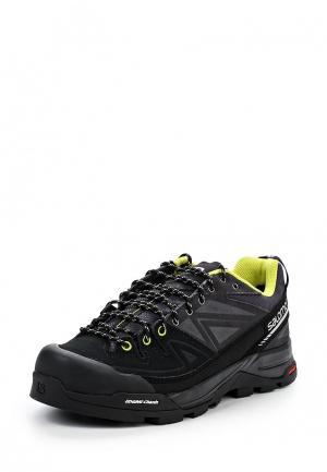 Ботинки трекинговые Salomon. Цвет: серый