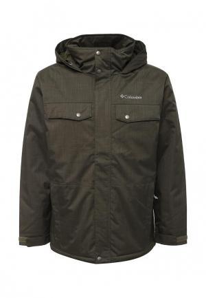 Куртка утепленная Columbia. Цвет: хаки