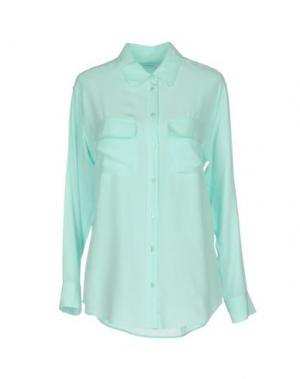 Pубашка EQUIPMENT FEMME. Цвет: небесно-голубой