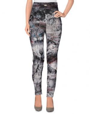 Повседневные брюки ELISABETTA FRANCHI. Цвет: серый