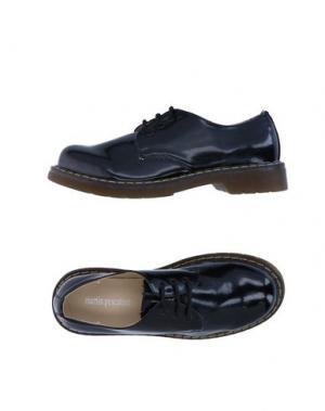 Обувь на шнурках MARTIN PESCATORE. Цвет: черный