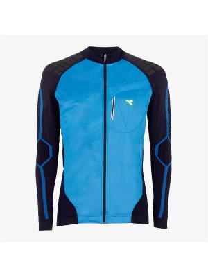 Куртка DIADORA. Цвет: синий