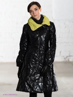 Пальто DOCTOR E. Цвет: черный, салатовый