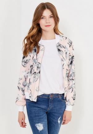 Куртка Chic. Цвет: розовый