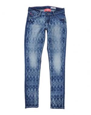 Джинсовые брюки VINGINO. Цвет: синий